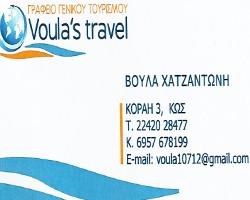 VOULA 'S TRAVEL
